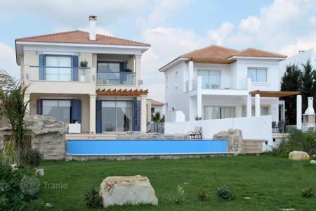 4 bedroom houses for sale in Perivolia. Four Bedroom Detached Beach Front House