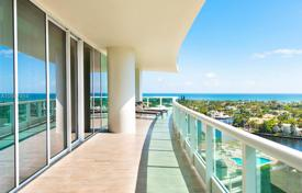 Stylish furnished apartment with ocean views in Aventura, Florida, USA for $2,550,000