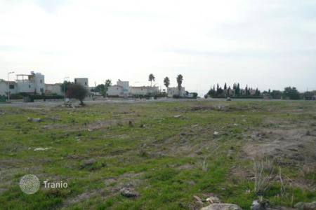 Coastal land for sale in Paphos. Plot Of Land Sea Views — Chlorakas