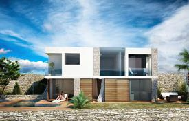 3 bedroom houses for sale in Dalmatia. New villa with a plot, a pool, a parking, terraces and sea views, Trogir, Croatia