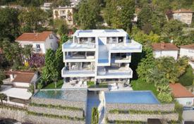 Apartments for sale in Primorje-Gorski Kotar County. Sea view apartment with a terrace, and a parking, Opatija, Croatia