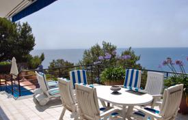 6 bedroom houses for sale in Blanes. Comfortable villa with a swimming pool, terraces and scenic sea views, Blanes, Spain