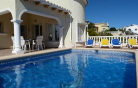 Houses for sale in Cumbre. 3 bedroom villa with private pool, solarium with panoramic views and 570 m² plot in Benitachell