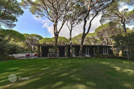 Villas and houses to rent in Italy. Villa in Roccamare with private park and direct access to the beach
