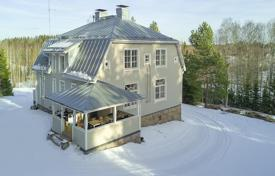 Houses for sale in Finland. Two-storey villa with a covered veranda, a separate annex and a garage, Vihti, Finland