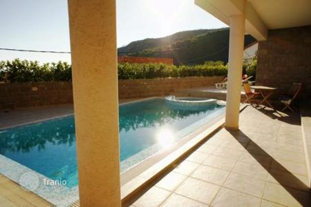Houses with pools by the sea for sale in Montenegro. Modern villa with sea view in Becici