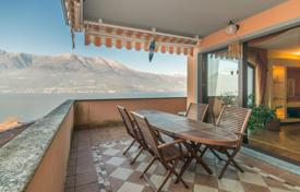 5 bedroom apartments for sale in Italy. Two-level apartment with a view of the mountains and the lake in Bellano, Lombardy, Italy