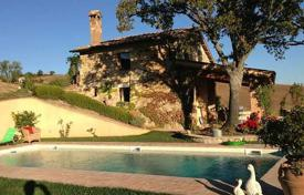 2 bedroom houses for sale in Tuscany. Renovated stone villa with a swimming pool in Castiglione d'Orcia, Tuscany, Italy