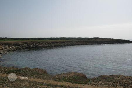 Coastal land for sale in Paphos. Exclusive Beachfront Land Ready For Building — SEA CAVES