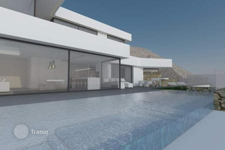 4 bedroom houses for sale in Altea Hills. 4 bedroom luxury villa with pool, chillout area, sea views, solarium, sauna and cinema in Altea Hills