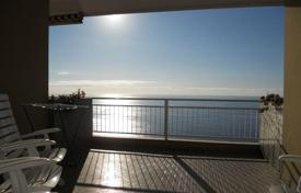Apartments with pools for sale in Ospedaletti. Sea view apartment with a terrace, in a residence with a swimming pool and a concierge, near the beach, Ospedaletti, Italy