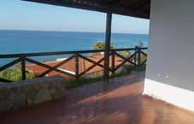3 bedroom houses for sale in Italy. Villa with garden, terrace and panoramic views of the sea in Parghelia, just 150 meters from the beach