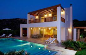 Villas and houses by the sea for rent with swimming pools in Almyrida. Villa – Almyrida, Crete, Greece