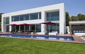 Contemporary villa with a pool, spa and sea views, Vista Alegre, Ibiza, Spain for 28,400 € per week
