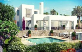 Villa with a private garden, a pool, a parking, a terrace and sea and mountain views, in a complex on a golf course, Casares, Spain for 3,200,000 €