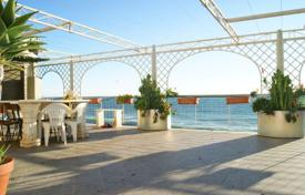 Penthouse with a spacious terrace, at two meters from the sea, Ospedaletti, Italy for 750,000 €