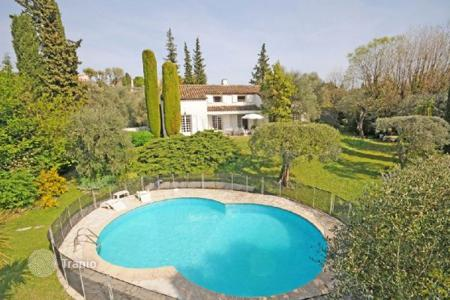 Cheap 6 bedroom houses for sale in France. Villa – Grasse, Côte d'Azur (French Riviera), France