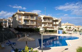 Apartments with pools for sale in Dehesa de Campoamor. Two-bedroom apartment on the beach in Dehesa de Campoamor, Alicante, Spain