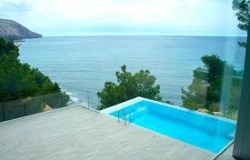 Luxury villas and houses with pools for sale in Costa Blanca. Designer villa with two pools in Altea, Alicante, Spain