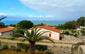 3 bedroom houses for sale in Sicily. Two-level villa with a large territory at 300 m from the beach in Alcamo Marina, Sicily, Italy