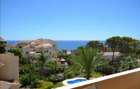 Apartments with pools for sale in Altea. Three-bedroom apartment in a modern residential complex with a pool and a garden in Altea, Alicante, Spain