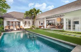 Property for sale in Seminyak. Modern furnished villa with a private plot, a tropical garden and a swimming pool, Seminyak, Bali