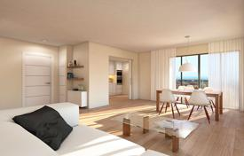 Coastal residential for sale in Costa Blanca. Modern apartment with terrace, in a residence with garden, swimming pool and parking, in Jávea, Alicante, Spain