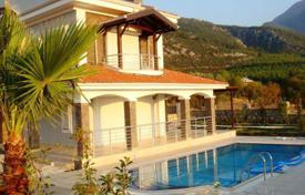 Houses with pools for sale in Western Asia. Villa – Fethiye, Mugla, Turkey