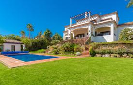 Modern villa with three terraces, a pool and sea views, near the golf course, Sotogrande, Andalusia, Spain for 2,395,000 €