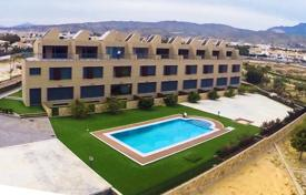Townhouses for sale in El Campello. New townhouses on the first line from the sea in Campello, Alicante, Spain