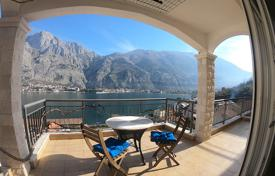 2 bedroom apartments by the sea for sale in Kotor. Spacious apartment with astonishing view of the Boko-Kotor Bay, Montenegro
