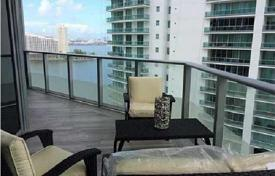 Property for sale in North America. New furnished apartment with ocean views, in a residence with a pool and a parking, 100 meters from the beach, Downtown, Miami, Florida, USA