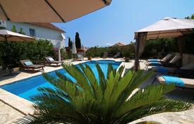 5 bedroom houses by the sea for sale in Croatia. Bright villa with two terraces, a pool and a garden, near the beach, Myrca, Split-Dalmatia County, Croatia