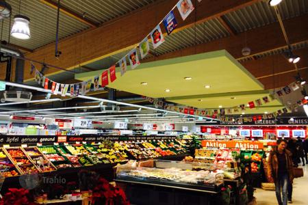 Supermarkets for sale in Germany. Supermarket in Frankfurt with a 6% yield