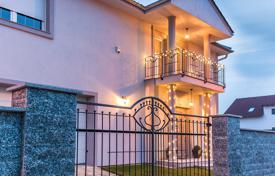 Property for sale in the Czech Republic. A new two-storey villa with a garden and a swimming pool in Prague
