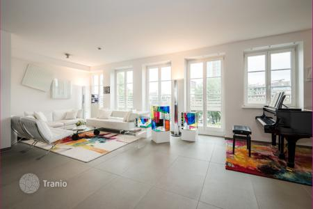 Luxury 2 bedroom apartments for sale in Berlin. Loft with two balconies and a terrace, with a view of Potsdam Square, in a historic building, Tiergarten, Berlin, Germany