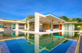 Coastal buy-to-let apartments in Surat Thani. 4 bedroom villa with breathtaking views of the sea in the area of Choeng Mon, Koh Samui