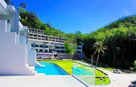 New homes for sale in Thailand. Stylish apartment with a hot tub in a residential complex with pool and landscaped gardens, Patong, Phuket, Thailand. High rental potential!