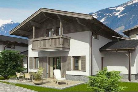 Off-plan houses for sale in Central Europe. Furnished chalets for rent with three bedrooms and a sauna in a few minutes from the ski lift, Rauris, Salzburg