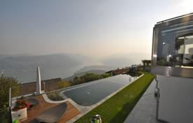 Luxury houses with pools for sale in Central Europe. Villa – Vernate, Ticino, Switzerland