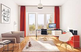 3 bedroom apartments for sale in Germany. Spacious apartment with panoramic windows and a large terrace in a new building overlooking the park, in Berlin
