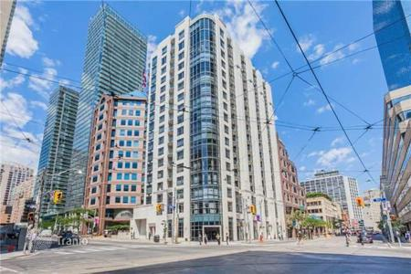Property for sale in Canada. One-bedroom apartment in Toronto