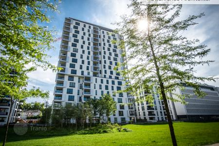 Luxury residential for sale in North Rhine-Westphalia. Modern penthouse with a terrace and panoramic views in Düsseldorf