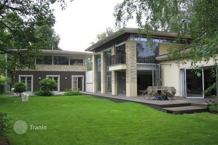 Houses with pools for sale in Latvia. Elegant modern house in Riga
