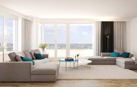 Apartments for sale in Hessen. Bright three-bedroom apartment in a morden residential complex, Gallus, Frankfurt, Germany