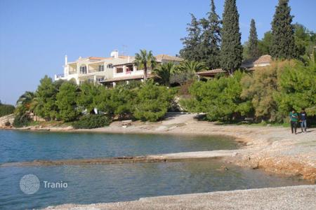 Luxury property for sale in Peloponnese. Four-storey villa in the first sea line in the Peloponnese