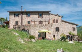 Three-storey stone villa with a plot of 20 hectares in Piegaro, Umbria, Italy for 1,324,000 €