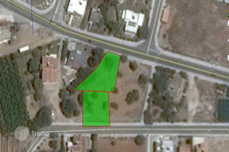 Land for sale in Kissonerga. 2 Plots to be sold as one piece in Kissonerga with sea view near Paphos forthcoming Marina