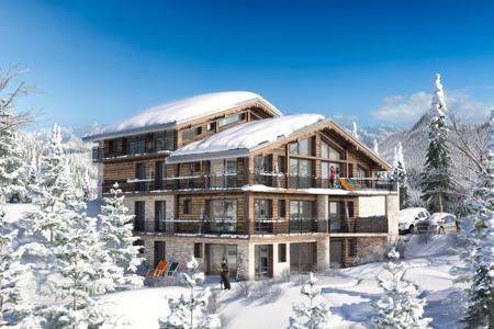 3 bedroom apartments for sale in Auvergne-Rhône-Alpes. Cozy apartment in a popular ski resort La Tania, French Alps, France