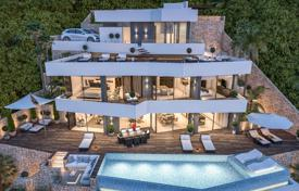Luxury houses with pools for sale in Benissa. New three-level villa with a pool in Benissa, Costa Blanca, Spain